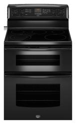 Brand: MAYTAG, Model: MET8665XB, Color: Black