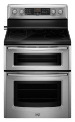 Brand: MAYTAG, Model: MET8775X, Color: Stainless Steel