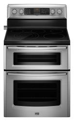 Brand: MAYTAG, Model: MET8885XW, Color: Stainless Steel