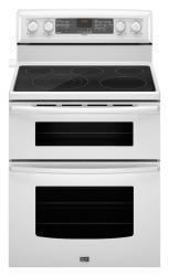 Brand: Maytag, Model: MET8885XW, Color: White