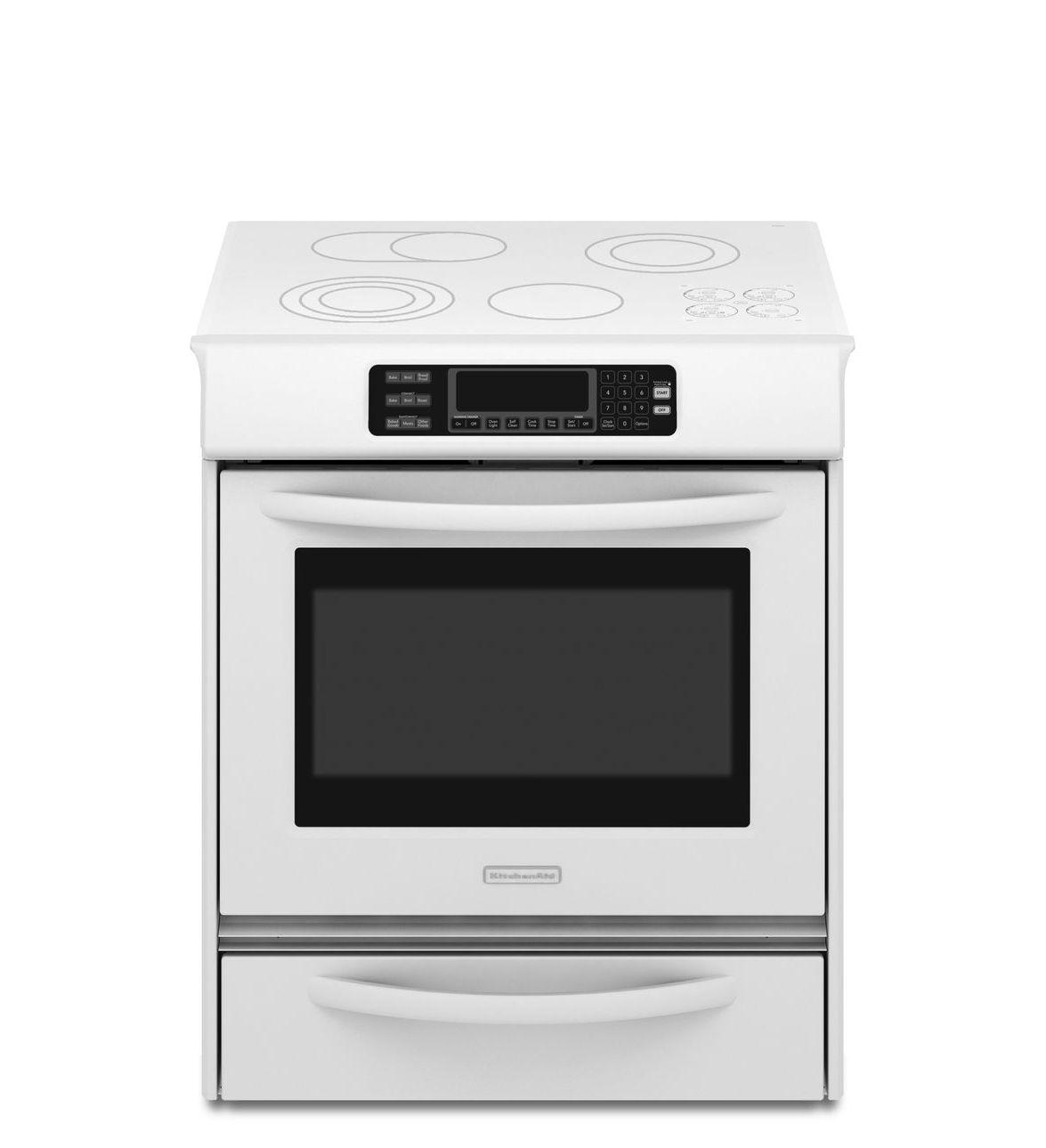 Kitchenaid Kess908sps 30 Quot Slide In Electric Range With 4