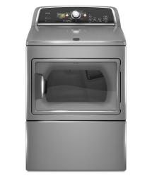 Brand: MAYTAG, Model: MEDX700X, Color: Lunar Silver