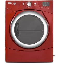 Brand: Whirlpool, Model: WED9270XR, Color: Cranberry Red