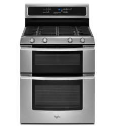 Brand: Whirlpool, Model: GGG388LXQ, Color: Stainless Steel