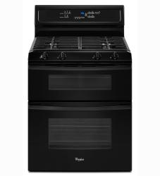 Brand: Whirlpool, Model: GGG388LXQ, Color: Black
