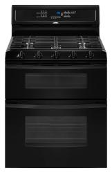 Brand: Whirlpool, Model: GGG390LX, Color: Black