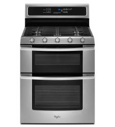 Brand: Whirlpool, Model: GGG390LX, Color: Stainless Steel