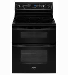 Brand: Whirlpool, Model: GGE388LXS, Color: Black