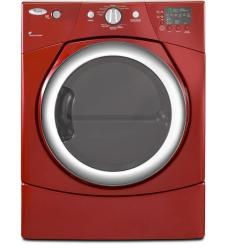 Brand: Whirlpool, Model: WGD9270XR, Color: Cranberry Red