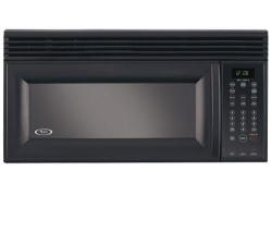 Brand: Whirlpool, Model: MH1150XMB, Color: Black on Black