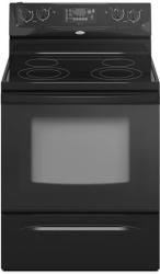 Brand: Whirlpool, Model: RF362LXTS, Color: Black on Black