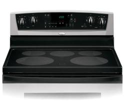 Brand: Whirlpool, Model: GR448LXPQ, Color: Black on Stainless Steel