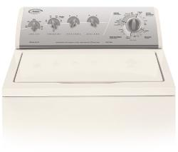 Brand: Whirlpool, Model: LSQ9549PG, Color: Bisque with Gold Metallic Console