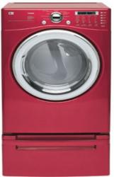 Brand: LG, Model: DLG7188, Color: Wild Cherry Red