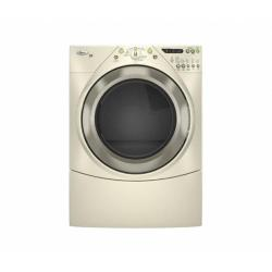 Brand: Whirlpool, Model: WED9400VE, Color: Bisque with Gold Metallic Accents