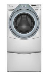 Brand: Whirlpool, Model: WFW9400SW, Color: White with Sapphire Blue Accents