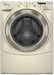 Brand: Whirlpool, Model: WFW9400ST, Color: Bisque with Gold Metallic Accents