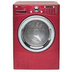 Brand: LG, Model: WM2487HWMA, Color: Wild Cherry Red