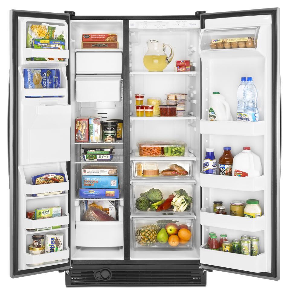 Ed5gvexvd Whirlpool Ed5gvexvd Side By Side Refrigerators