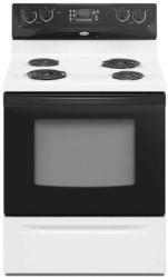 Brand: Whirlpool, Model: RF263LXTW, Color: Black-on-White