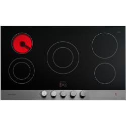 Brand: Fisher Paykel, Model: CE365DBX1, Style: 36 Inch Smoothtop Electric Cooktop