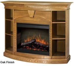Brand: Dimplex, Model: SMPBK170OST, Style: Devon Electric Fireplace