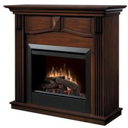 Brand: Dimplex, Model: DFP4765BW, Style: Traditional Fireplace Package