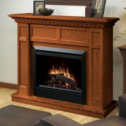 Brand: Dimplex, Model: DFP4743, Color: Warm Oak