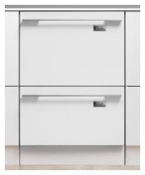 Brand: Fisher Paykel, Model: DD24DCX6V2, Color: Integrated/Requires Custom Panel