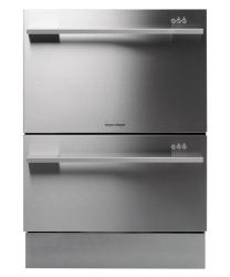 Brand: Fisher Paykel, Model: DD24DCX6V2, Color: Stainless Steel Flat Door with Straight Handle