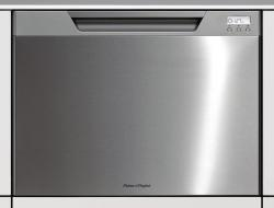 Brand: Fisher Paykel, Model: DD24STV2, Color: Stainless Steel with Recessed Handle and Softener