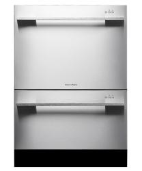Brand: Fisher Paykel, Model: DD24DDFTX6V2, Color: Stainless Steel Flat Door with Straight Handle