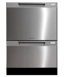 Brand: Fisher Paykel, Model: DD24DHTI6V2, Color: Stainless Steel with Recessed Handle and Softener