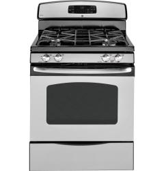 Brand: GE, Model: JGB295DER, Color: Stainless Steel