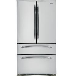 Brand: GE, Model: PGSS5NFZSS, Style: 24.9 cu. ft. French Door Refrigerator