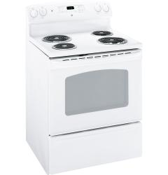Brand: GE, Model: JBP28GRSA, Color: White