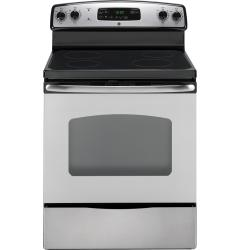 Brand: GE, Model: JB620, Color: Stainless steel