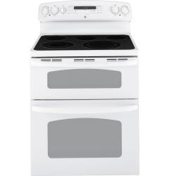 Brand: GE, Model: JB870DRBB, Color: White