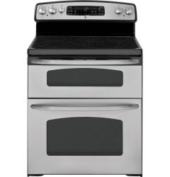 Brand: GE, Model: JB870DRBB, Color: Stainless steel