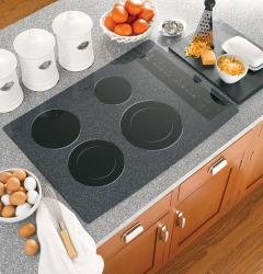 Brand: GE, Model: , Color: Pattern White on Black Surface