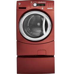 Brand: GE, Model: GFWS3505LMS, Color: Vermillion Red