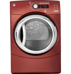 Brand: GE, Model: GFDS355GLMS, Color: Vermilion Red