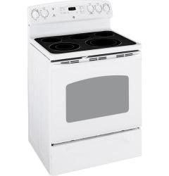 Brand: GE, Model: JB3001RSS, Color: White