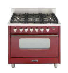 Brand: Verona, Model: VEFSGGL65, Color: High Gloss Red