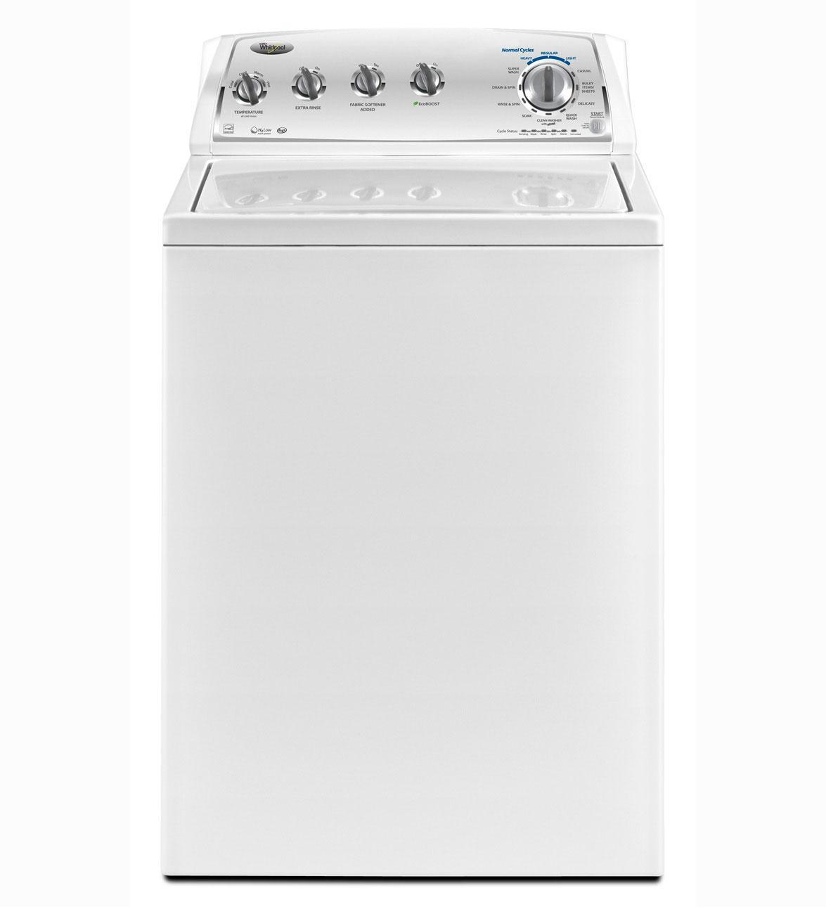 "Whirlpool WTW4950XW 27"" Top-Load Washer With 3.6 Cu. Ft"