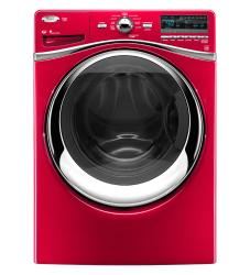 Brand: Whirlpool, Model: WFW94HEXR, Color: Cranberry