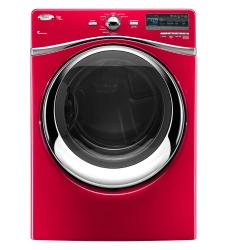 Brand: Whirlpool, Model: WED94HEXW, Color: Cranberry
