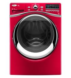 Brand: Whirlpool, Model: WFW95HEXR, Color: Cranberry