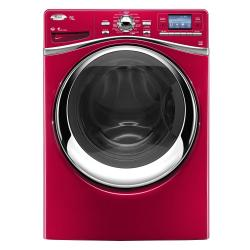 Brand: Whirlpool, Model: WFW97HEXW, Color: Cranberry