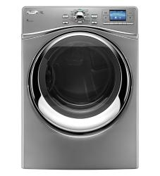 Brand: Whirlpool, Model: WED97HEXL, Color: Lunar Silver